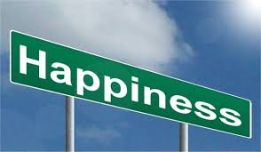 Happiness signpost